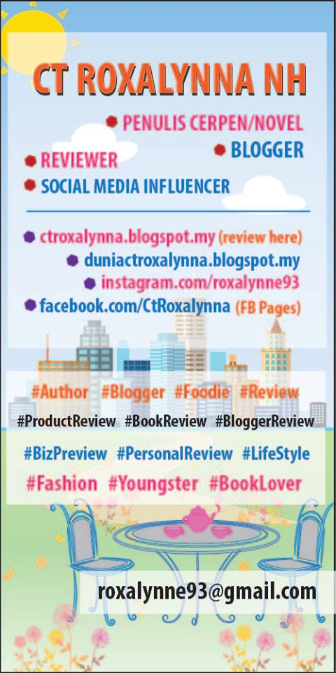 Jom Review : Cik Ct d'Blogger