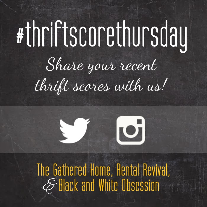 #thriftscorethursday Week 4 | Trisha from Black and White Obsession, Brynne's from The Gathered Home, and Megan from Rental Revival