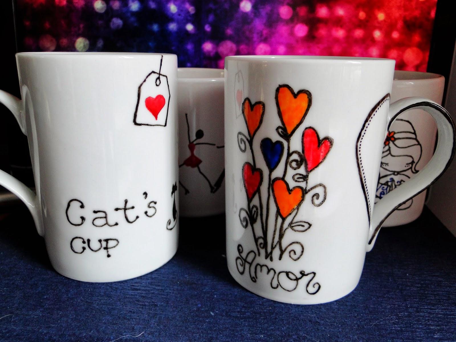 Populares Ideias de trazer por casa: Como personalizar canecas de porcelana  MY58