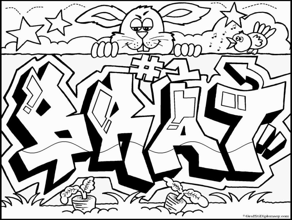 Graffiti Creator Styles Graffiti Words Coloring Pages
