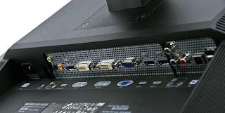 Dell UltraSharp U3011 Widescreen LCD S-IPS monitor input port