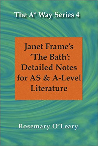 the bath by janet frames essay Text only major english writers 1 lit 2001-01 home page | illinois valley community college exam 1 essay questions due date wednesday, september 21 (9:00 am) the essays are due at the beginning of the class period in which the in-class portion of the exam is given, on wednesday, september 21.