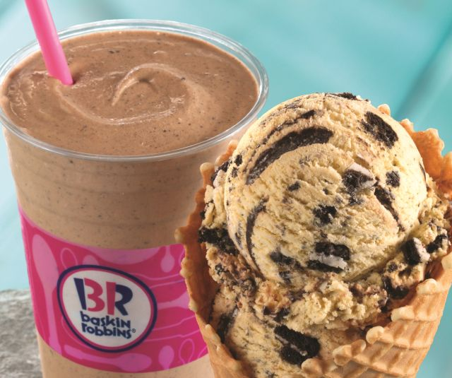 Baskin-Robbins is featuring Oreo n Cake as Julys Flavor of the Mont...