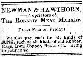Newman & Hawthorn 1901 ?? Ad