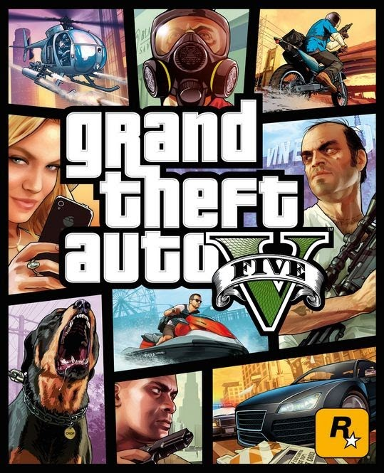 Grand Theft Auto (GTA) V Game Cover Image