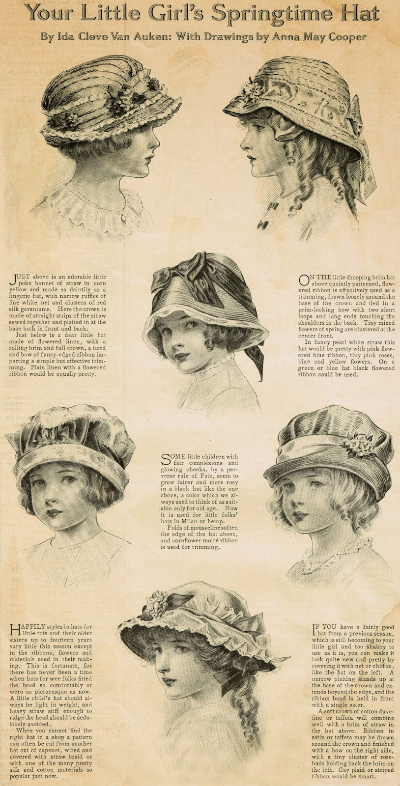 early 1900s fashion hats - photo #9