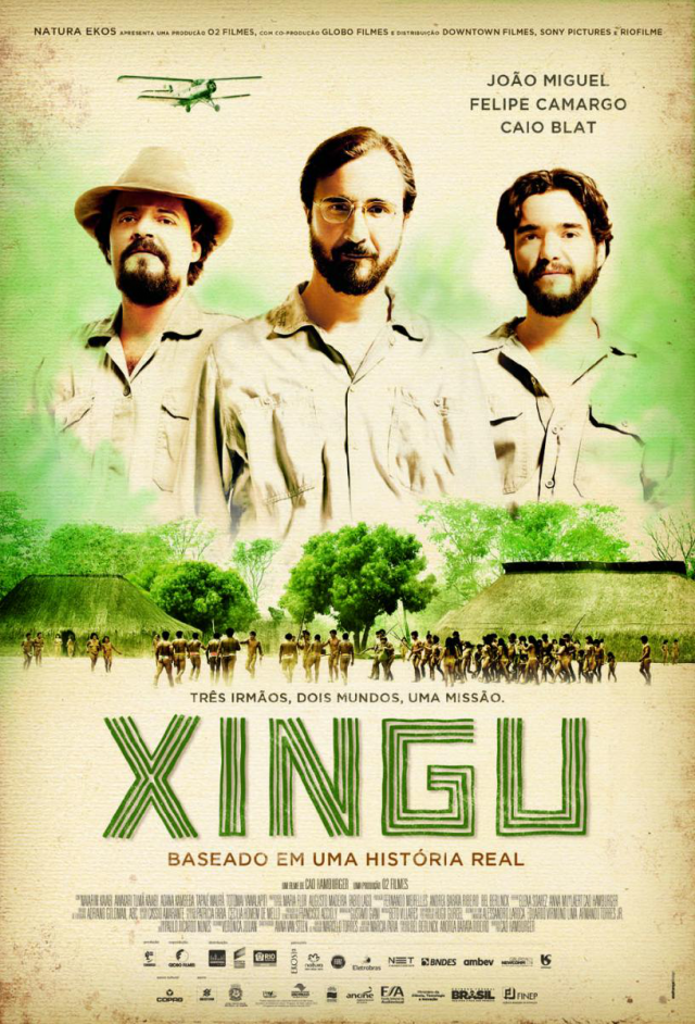 La película Xingu La misión al amazonas
