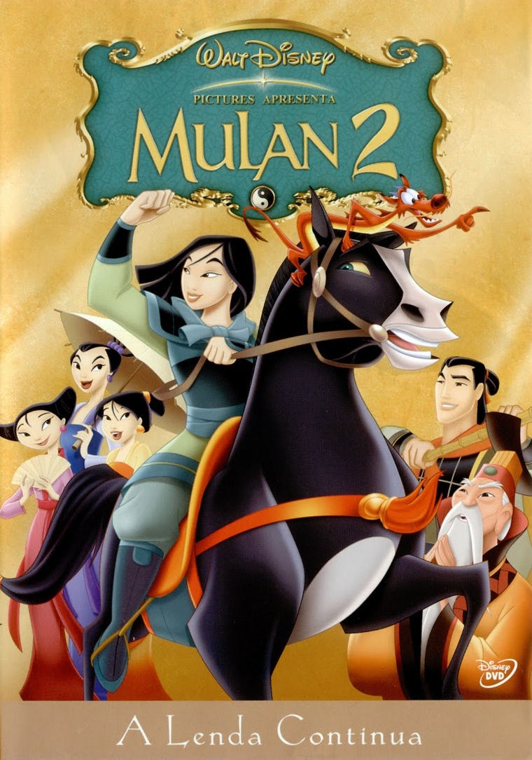 Mulan 2: A Lenda Continua – Dublado (2004)