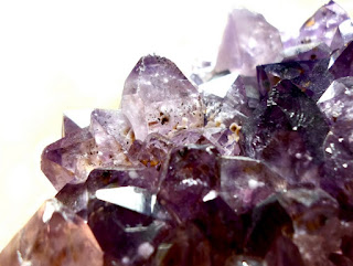 Powerful African Amethyst Crystals