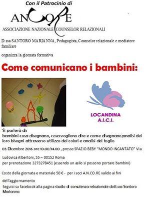 """""""COME COMUNICANO I BAMBINI"""""""