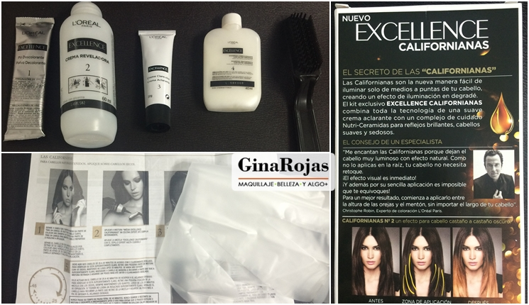 Kit de las californianas de loreal