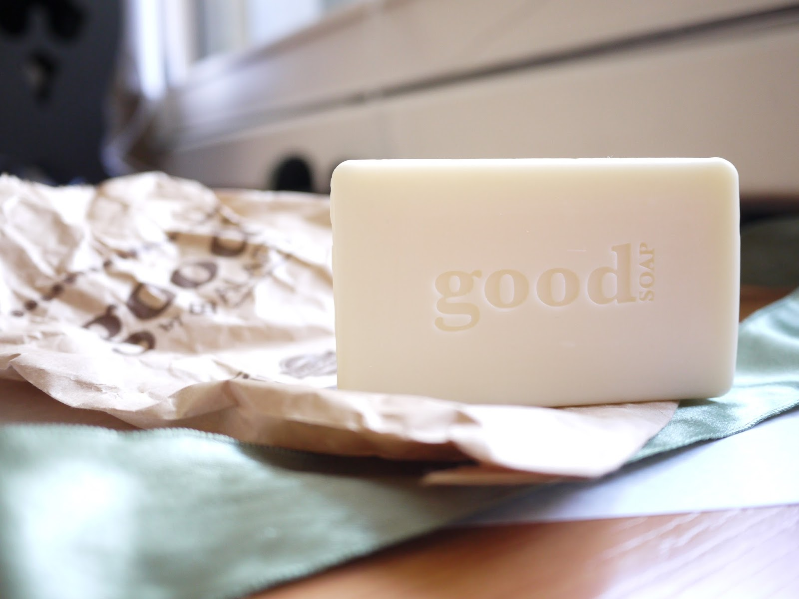 Good Soap by Alaffia vanilla coconut mint soap review