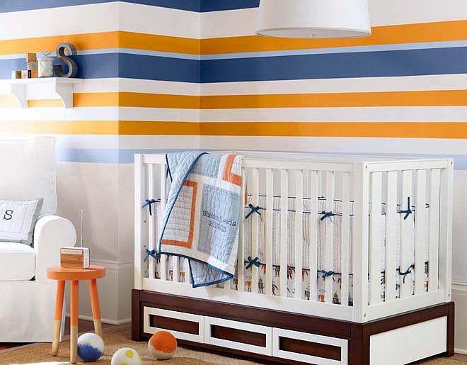 10 lindos dormitorios para beb ni o dormitorios colores for Pegatinas dormitorio bebe