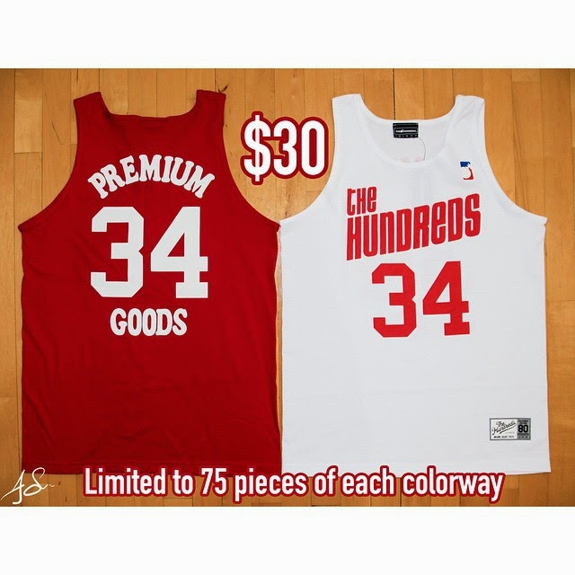 "The Hundreds x Premium Goods 10th Anniversary Houston ""34"" Collection - Hakeem Olajawon Houston Rockets Basketball Jersey"