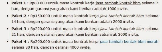 Menambah Contact BBM