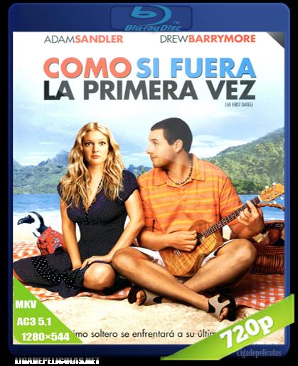 50 primeras citas 720p HD Latino