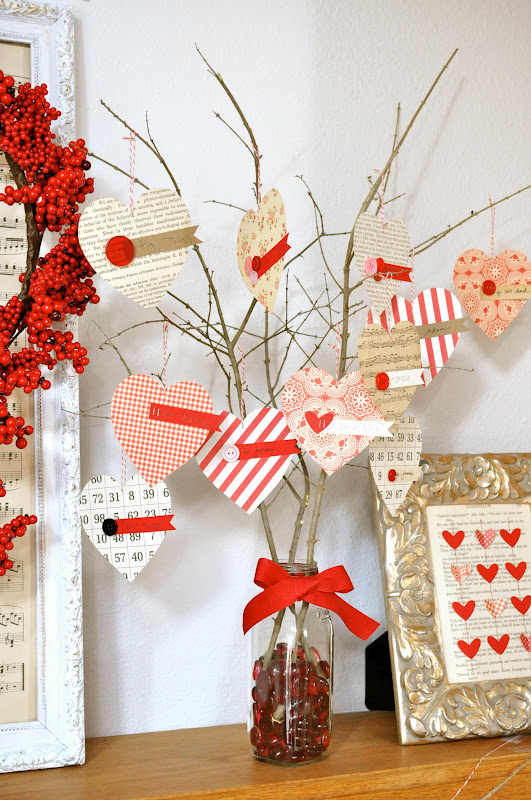 Home craft ideas modern world furnishing designer for Heart decorations for the home
