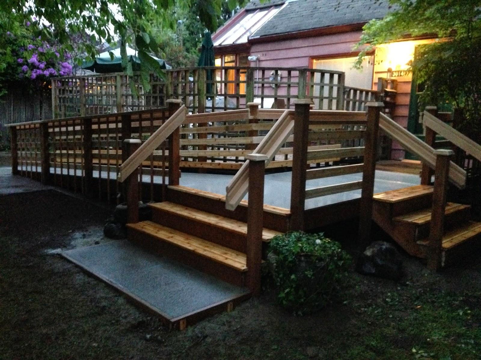 Shoreline Area News Shoreline firm creates wheelchair ramp for
