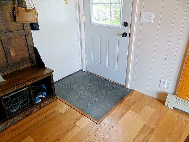 Foyer Tile Xbox One : One project at a time diy new cabin wood floors