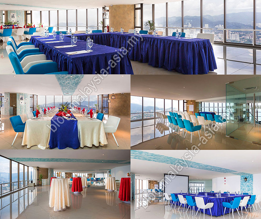 The Multi Purpose Function Rooms At 59Sixty Komtar Penang Photo From Top