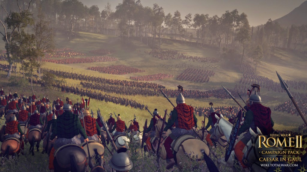 Total War: Rome II – Caesar in Gaul gameplay