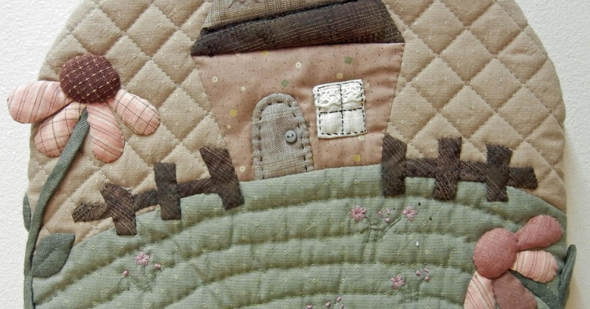 Ulla s Quilt World: Quilted Tea Cosy - Japanese patchwork