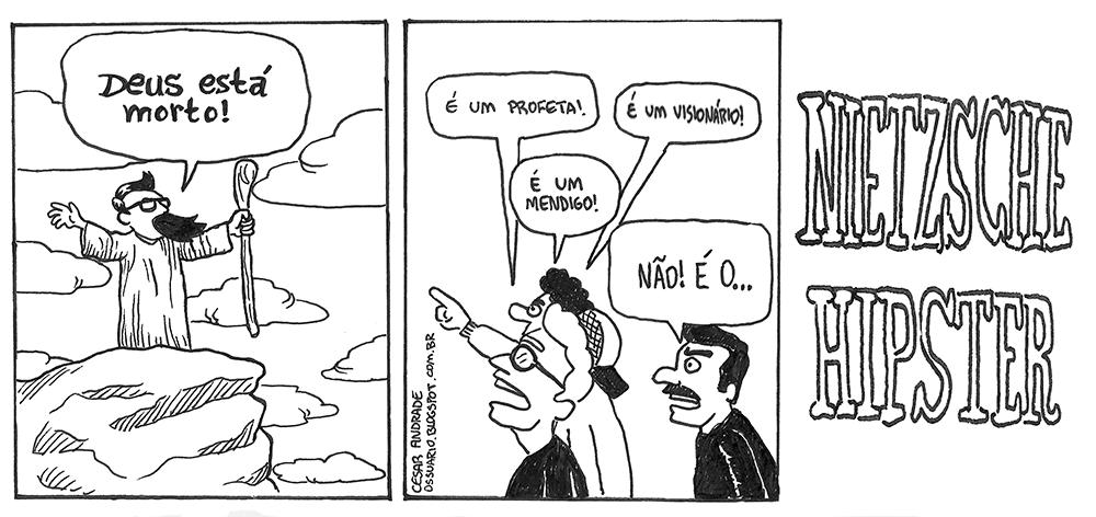 Deus está morto, por Cesar Andrade