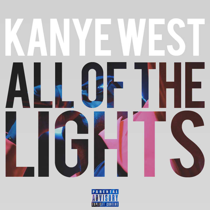 rihanna and kanye west all of the lights video. kanye west all of the lights