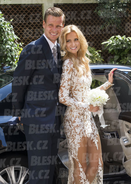 Tomas Berdych And Ester Satorova Are Married Smile Of Fortune