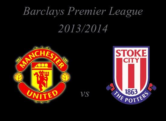 Manchester United vs Stoke City Premier league 2013