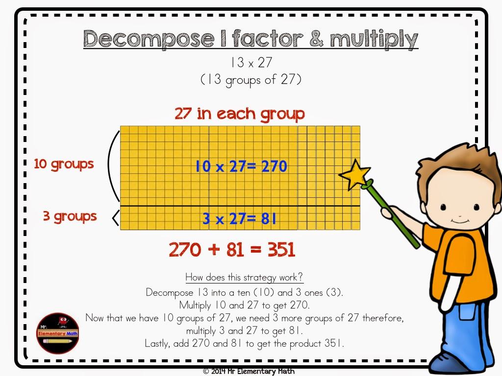 photos of multiplication Double Digit Multiplication Strategies