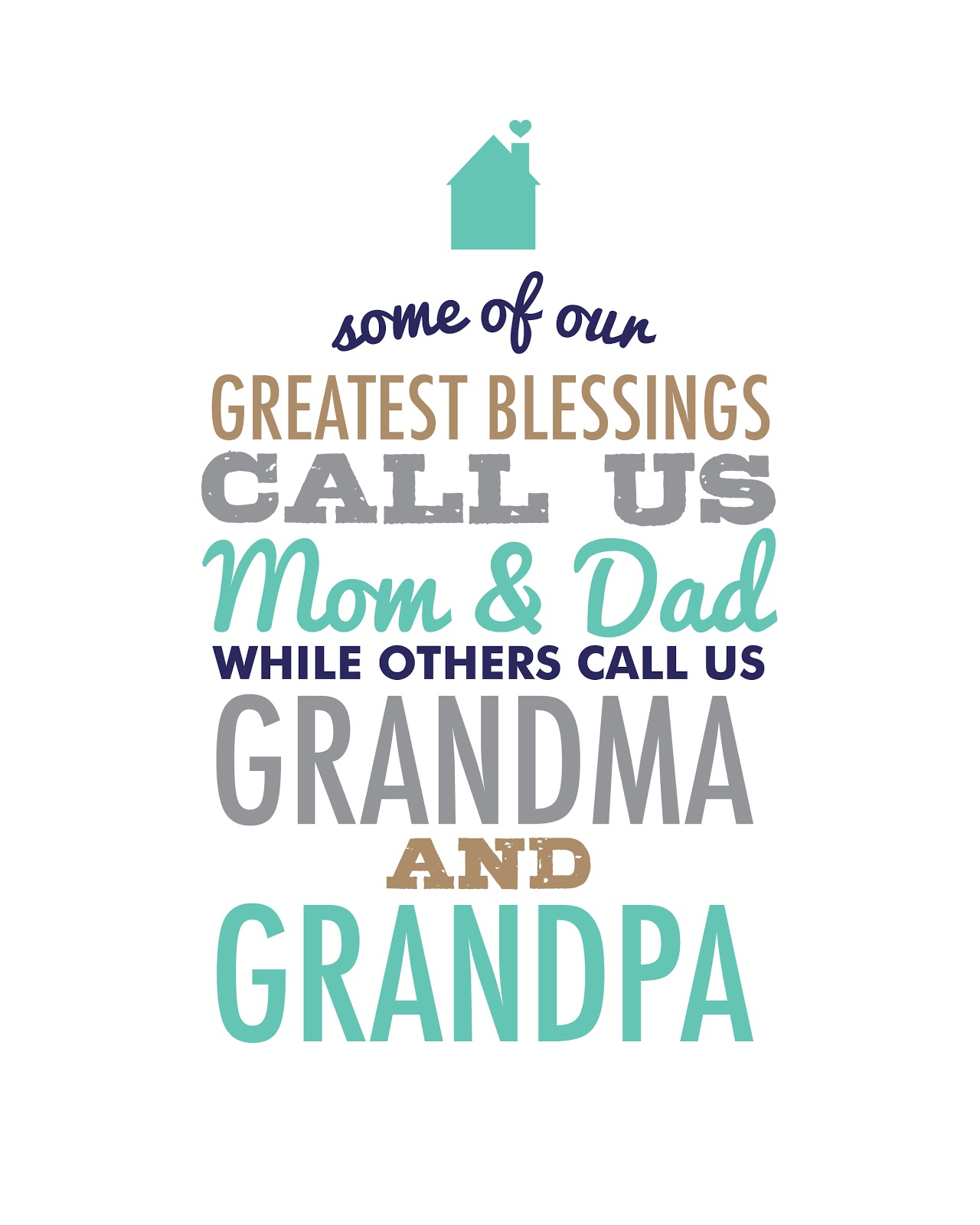I Love My Grandpa Quotes Ckm Inspired Greatest Blessing Quote