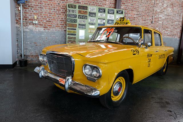 1962 Studebaker Lark #29 from the Yellow Cab Company
