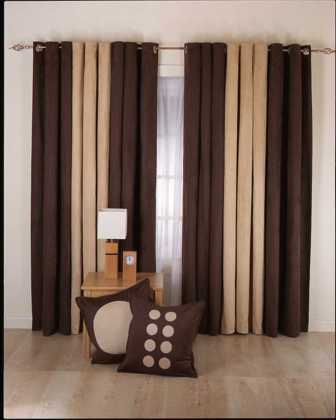 living room interior Design with sewing curtains, curtains living room  title=