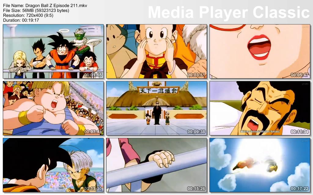 Download Film / Anime Dragon Ball Z Majin Buu Saga Episode 211 Bahasa