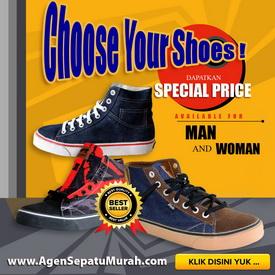 toko sepatu online, grosir sepatu murah