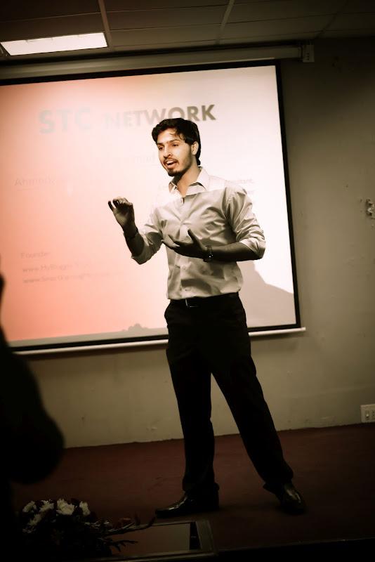 mohammad mustafa presenting
