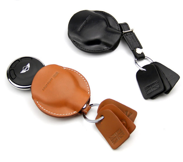 Genuine Leather Mini Cooper Key Case  Mini Cooper Parts amp; Accessories