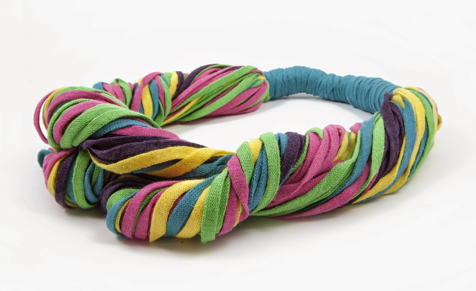 RibbonXL DMC bracciale uncinetto