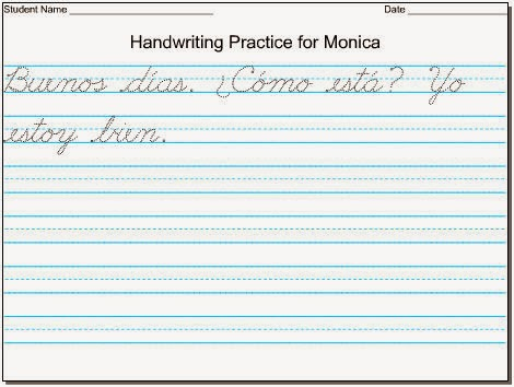 Worksheets Cursive Writing Grade 2 cursive writing template life as a teacher handwriting templates hand writing