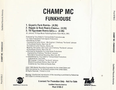 Champ MC – Funkhouse (CDS) (1995) (320 kbps)