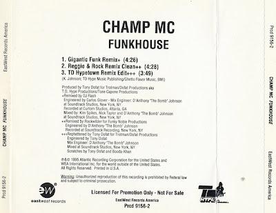 Champ MC – Funkhouse (CDS) (1995) (320 kbps)