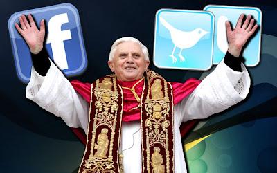 Papa abençoa redes sociais