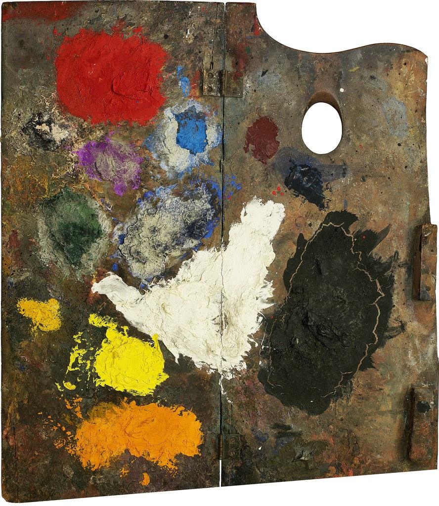 Meridianos las paletas de los genios de la pintura for Paleta colores pintura