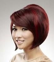 Model Rambut Pendek Wajah Bulat