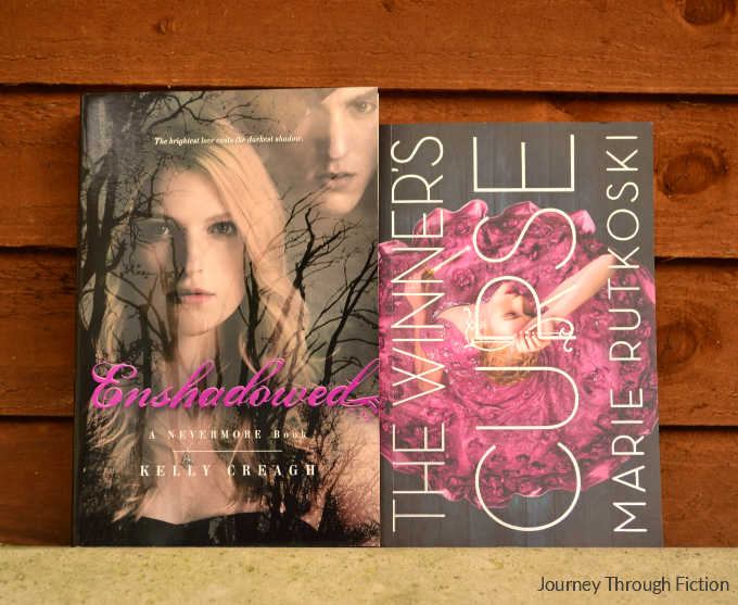 Enshadowed by Kelly Creagh, The Winner's Curse by Marie Rutkoski Journey Through Fiction weekly wrap up