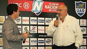 Carlos Araujo, Presidente de la Unión Argentina de Rugby