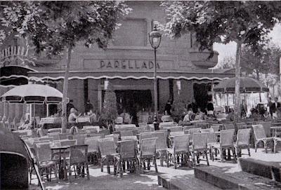 BARCELOFÍLIA: PARELLADA. Restaurant. Saló de té. Pastisseria. Diagonal/Còrsega (1929-1967)