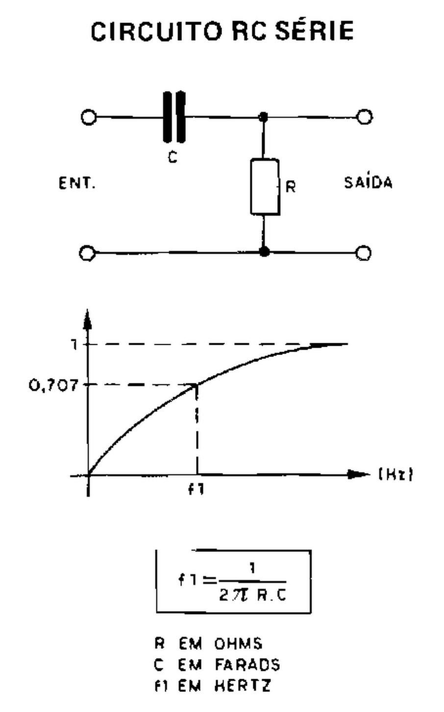 Circuito Rc : EletrÔnica geral circuito rc série