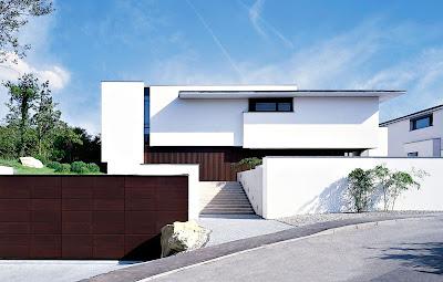 Acabados de fachadas minimalistas